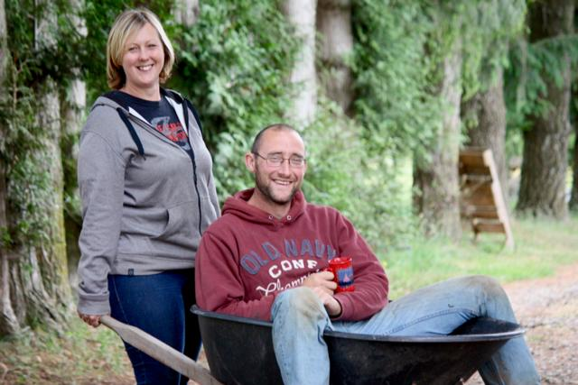 Cathy and Ian Finley of Laurica Farm, Langley BC