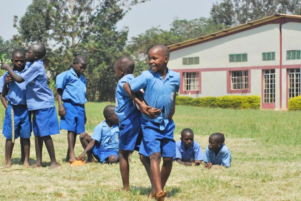 Students at Kibaale School