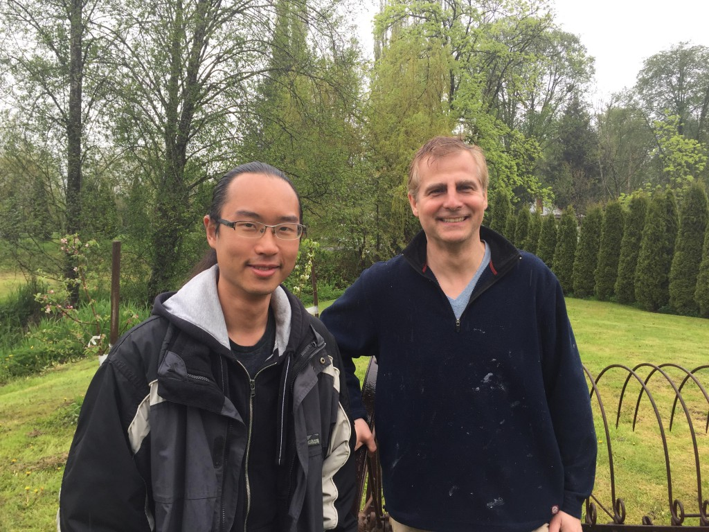 Young farmer,  Roger Woo, is matched with arable land owner, David Feldhaus.