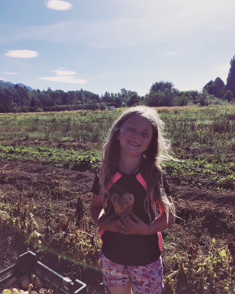 Celia  at the Ecovillage in Yarrow