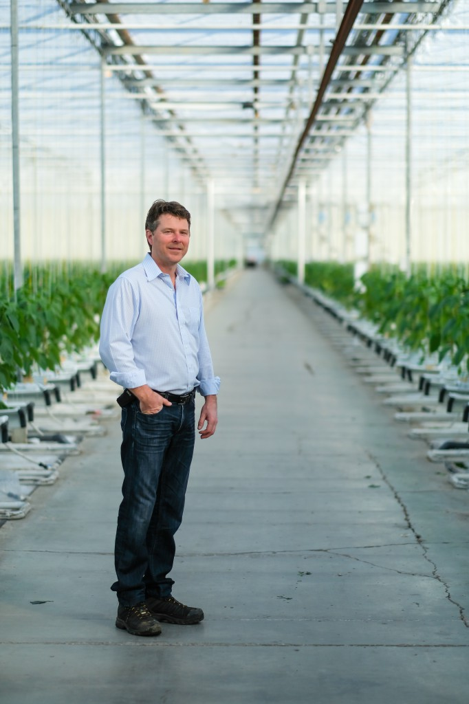 Abbotsford pepper grower and greenhouse owner, Armand Vander Meulen