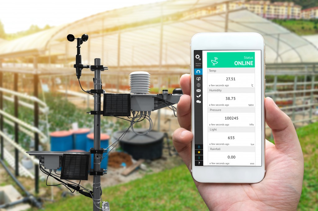 Through wireless irrigation technology using cloud-based software, farmers can identify regions undergoing plant stress in real time.