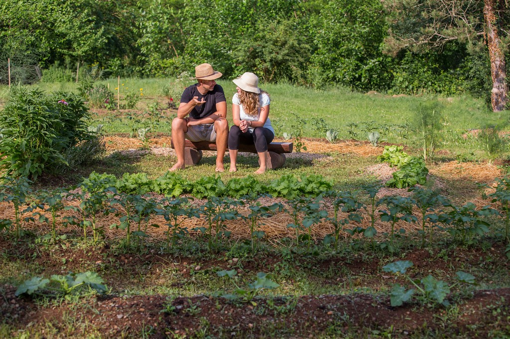 The core of permaculture is to bring together, through mutually beneficial relationships, people and the land they live on.